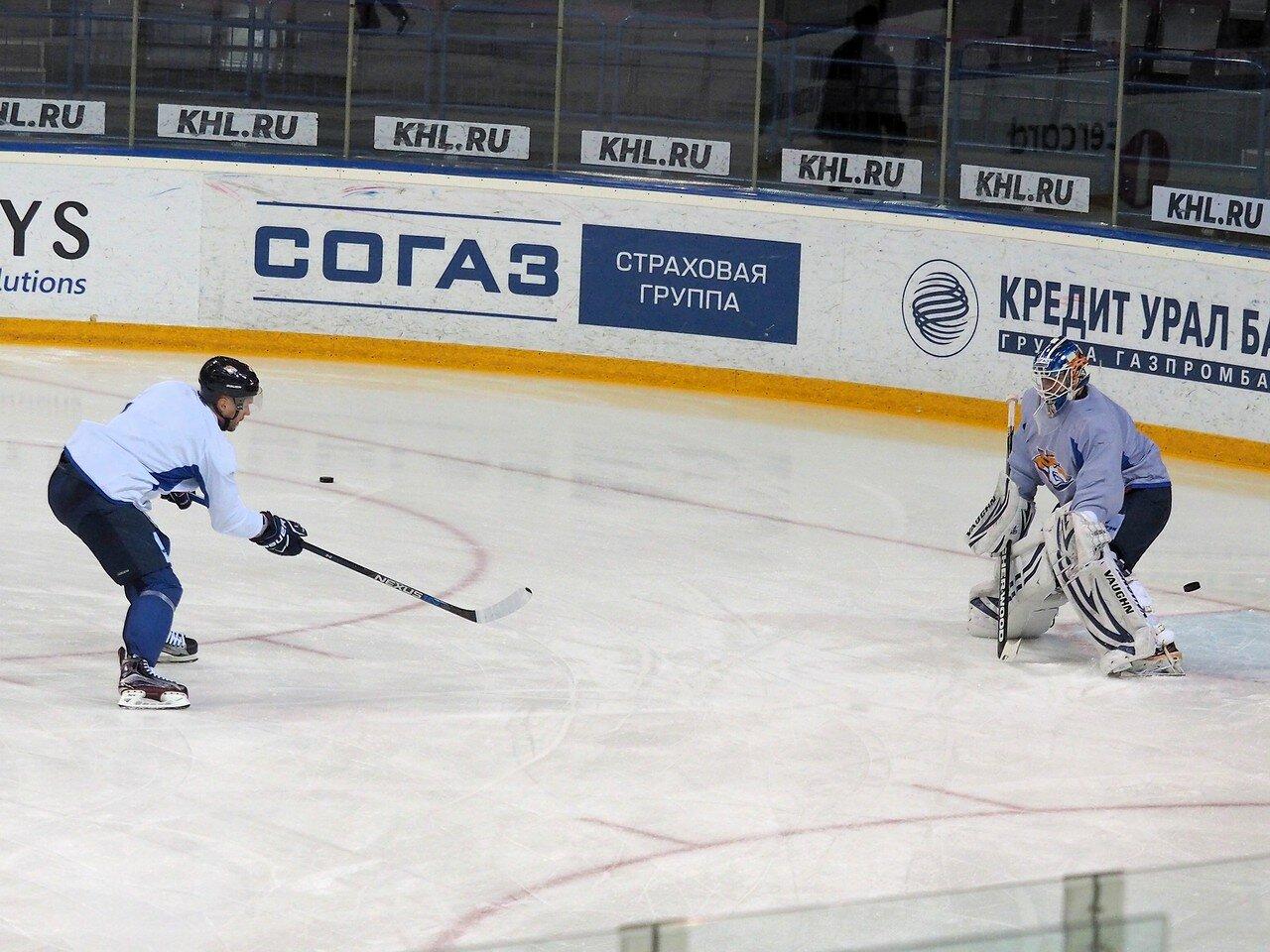 22 Открытая тренировка перед финалом плей-офф восточной конференции КХЛ 2017 22.03.2017