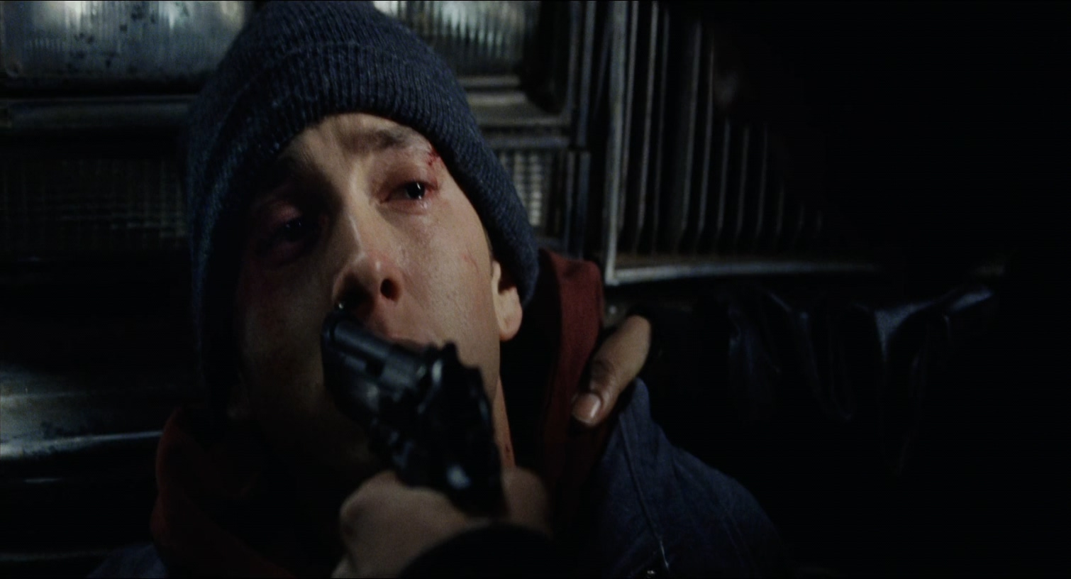 life struggles of an upcoming aspiring teenage rapper in the film 8 mile Isn't that eminem rapping 8 mile is a semi-autobiographical film that follows jimmy smith jr, a struggling young rapper the film's protagonist is known by many titles throughout the film including jimmy and rabbit, but he's primarily known by his stage name b-rabbit (short for bunny.