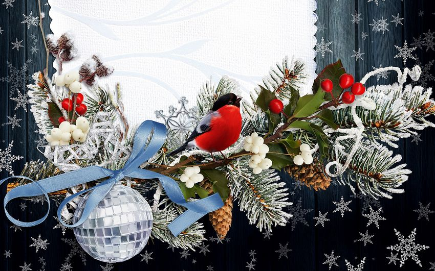 Новый год, новогодние фоны, открытка