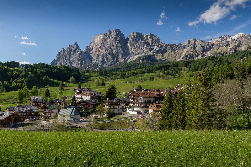 Cortina d'Ampezzo, Italien.
