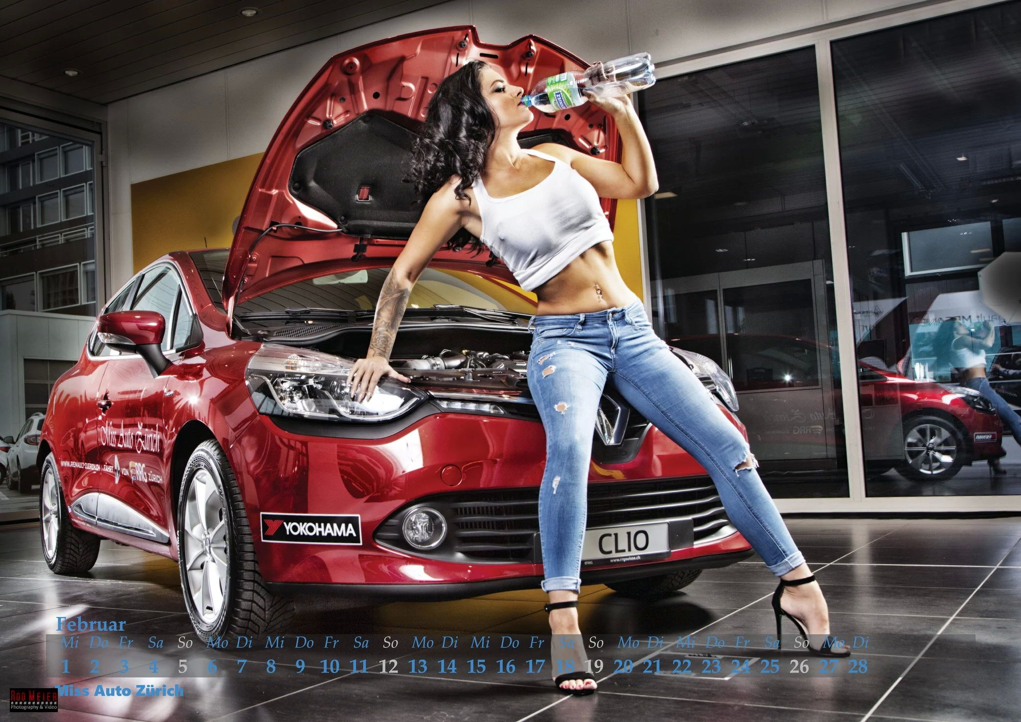 Мисс Авто Цюрих Календарь / Miss Auto Zürich Kalender 2017