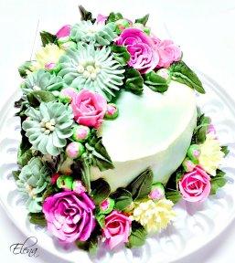День кондитера! Торт с цветами открытки фото рисунки картинки поздравления