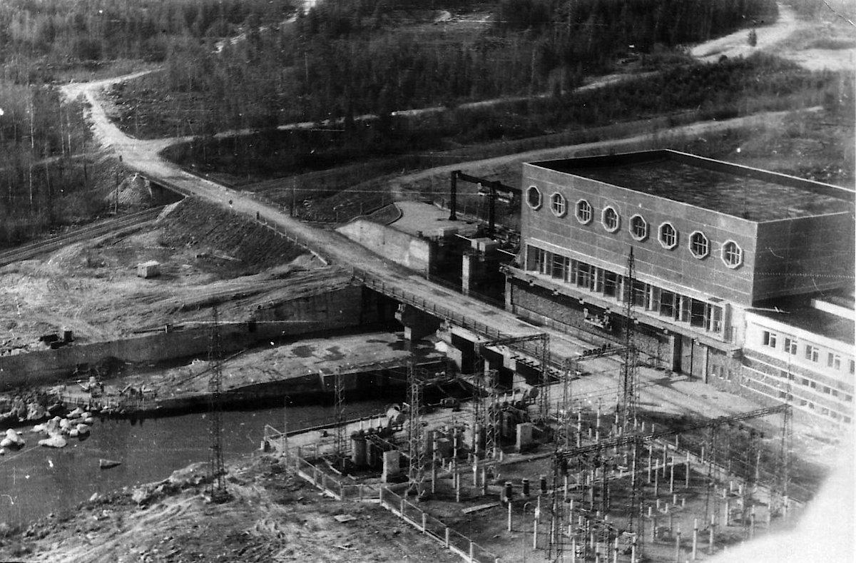 История строительства Юшкозерской ГЭС
