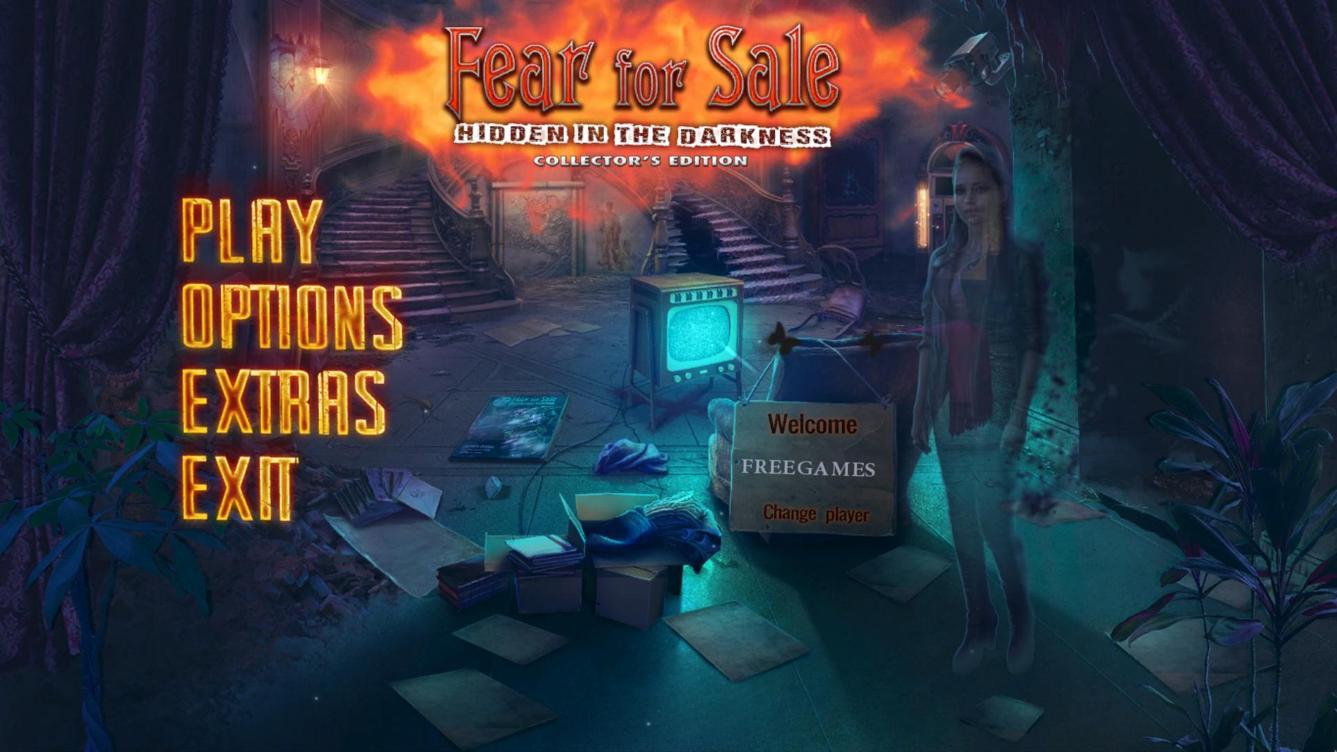 Страх на продажу 10: Скрытые в темноте. Коллекционное издание | Fear For Sale 10: Hidden in the Darkness CE (Rus)