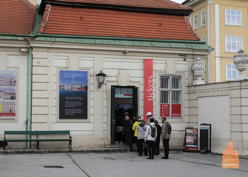 Покупка билетов в Бельведер