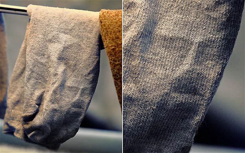 1. В декабре 2011 года 38-летняя Сара Крэйн из Орпингтона, Кент, заметила лицо Иисуса в изгибах лини