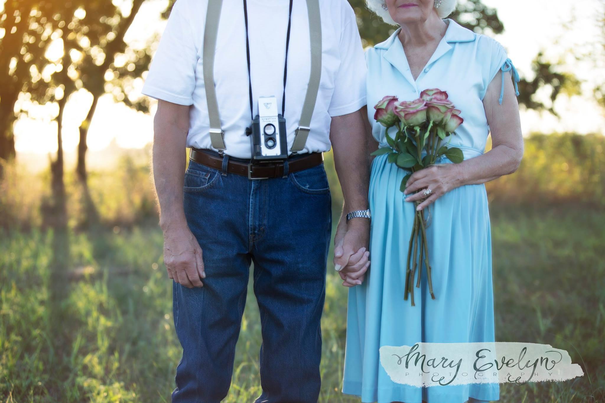 Фотосессия, вдохновленная историей любви из картины «Дневник памяти», — дело рук фотографа Стейси Уэ