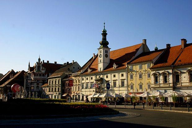 Марибор, Словения, 63 евро в сутки Марибор, в 2000 году получивший статус альпийского города, извест