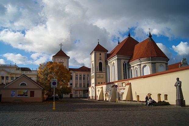 Каунас, Литва, 52 евро в сутки Каунас находится в месте слияния двух самых больших литовских рек, Ня