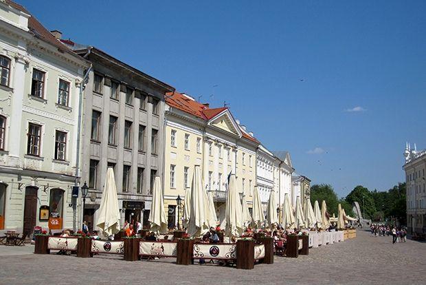 Тарту, Эстония, 42 евро в сутки Один из древнейших городов Прибалтики, упоминающийся в Повести Време