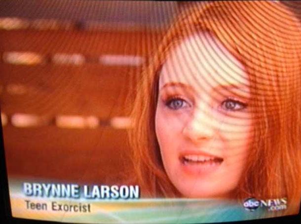 Бринн Ларсон, подростковый экзорцист.