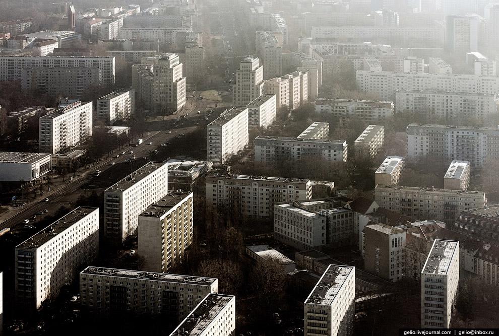 Столица Германии с высоты: старый-новый Берлин