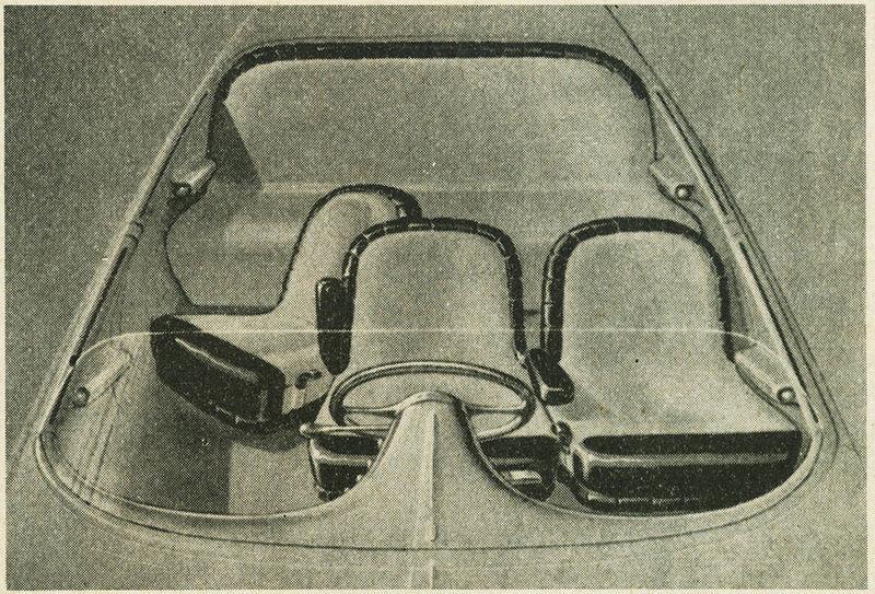 Машина имела независимую подвеску, дисковые тормоза и множество прочих новинок, не удивительно, что