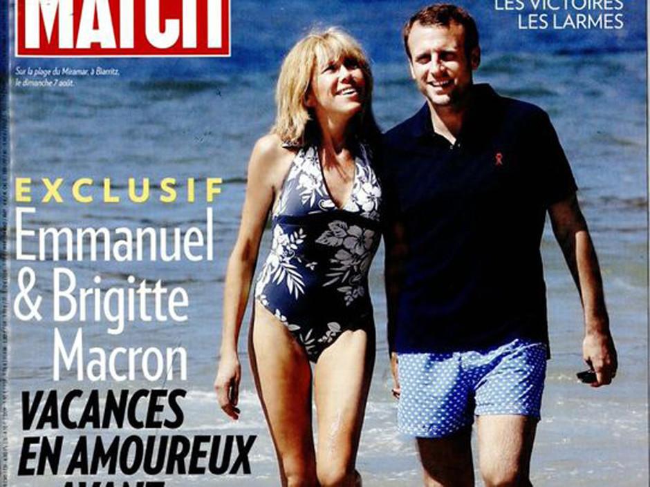 Главный кандидат в президенты Франции женат на своей учительнице и нянчит ее внуков