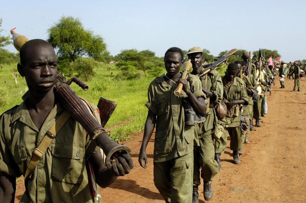 В Судане ведут деятельность радикально настроенные вооруженные группировки, которые укрепили св