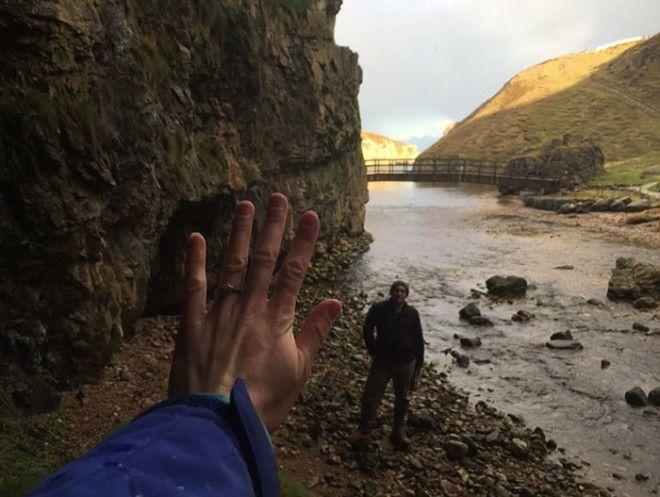 """Радостное событие произошло в Пещере Сму (Smoo Cave) в Шотландии. К слову, """"smoo"""" на древн"""