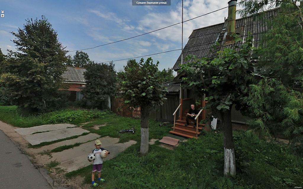 Руза, Средне-Зарецкая улица.