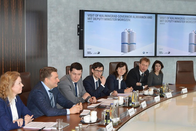 Германские инвесторы заинтересованы вработе сКалининградской областью— Олег Скворцов