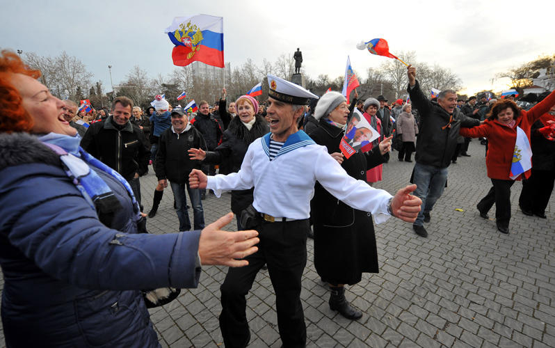 Сколько млн потратит Кремль— Годовщина аннексии Крыма