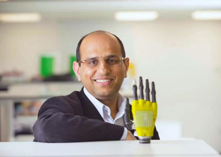 Разработали роботизированную кожу для протезов