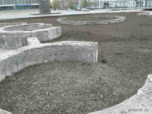 Луганск фонтан на Театралке