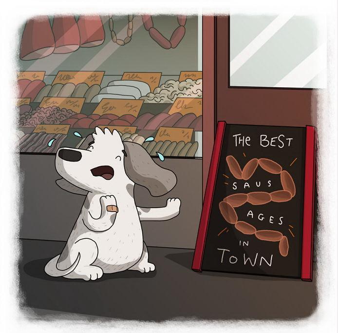 Собака, укушенная змеёй, боится и сосисок (бразильская пословица)