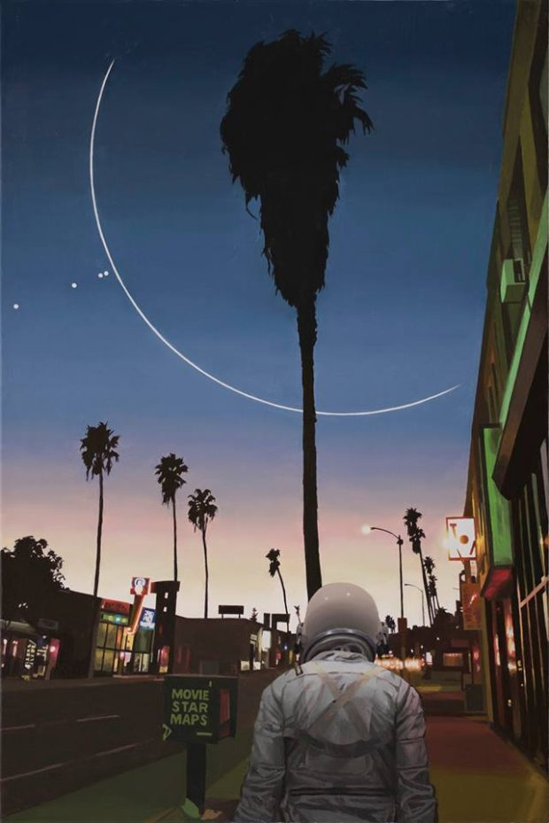 #ART The Lonely Astronaut by Scott Listfield
