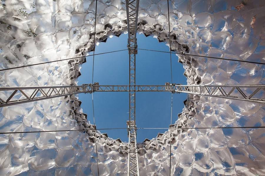 Parametric Glacier Pavilion by DJA