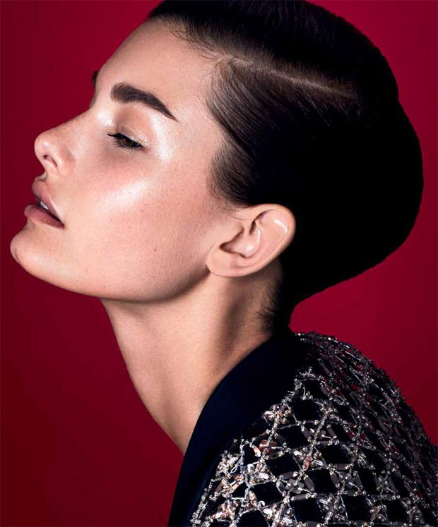 Ophelie Guillermand Stars in Harper's Bazaar Serbia April 2017 Cover Story