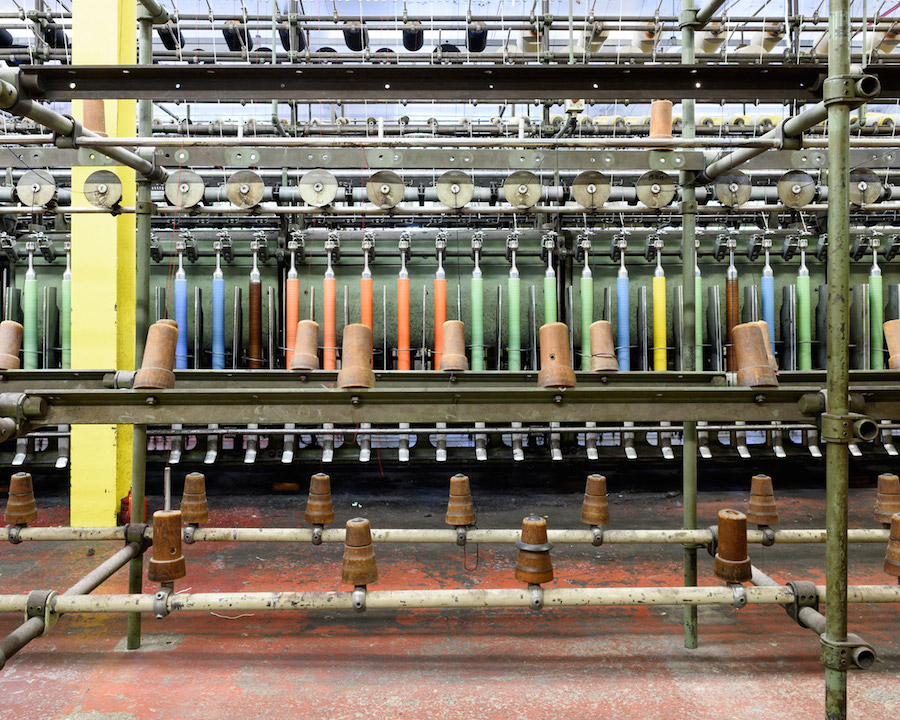 Fascinating Photographs of Kvadrat Factory