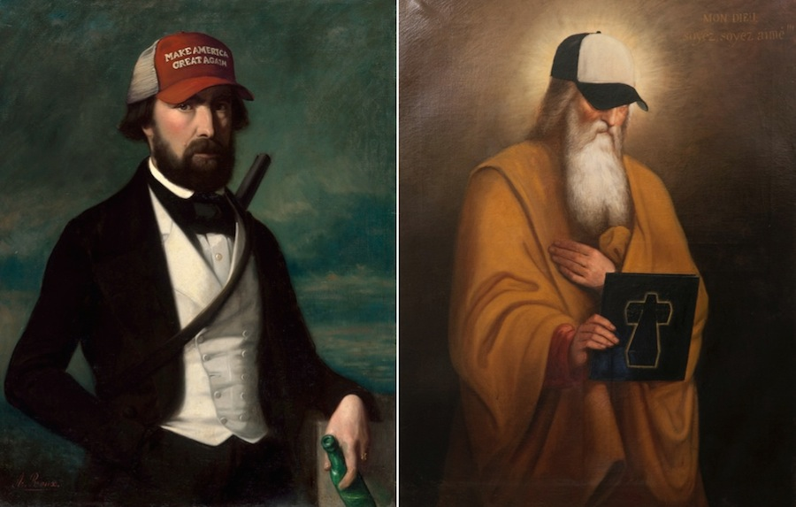 New Retouched Classical Paintings by Blase