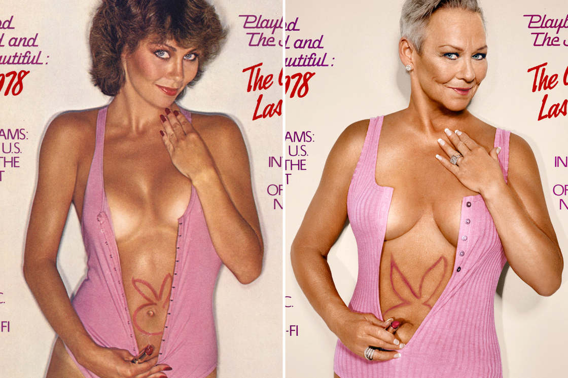 Playboy – When Playmates recreate their covers 30 years later (15 pics)