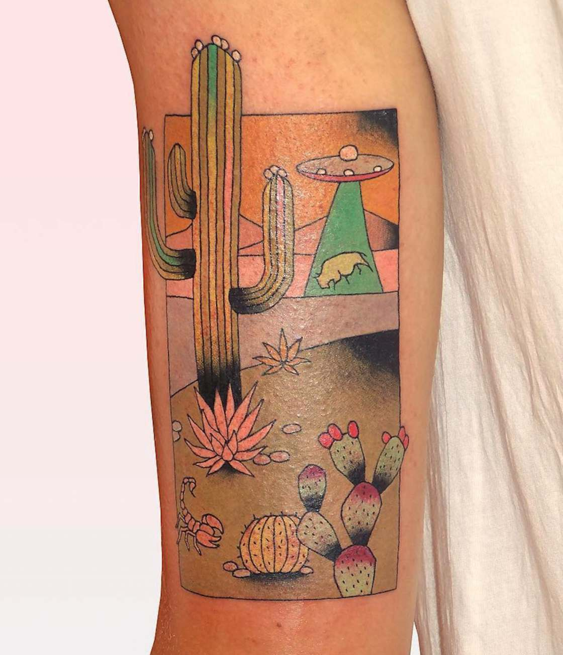 Brindi Tattoo - The pop and colorful tattoos from south of France