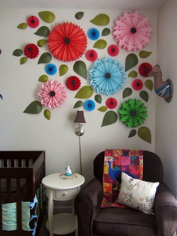 Как сделать красивую комнату из бумаги