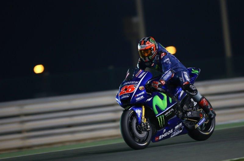 Гран При Катара 2017: Маверик Виньялес - быстрейший в первой практике
