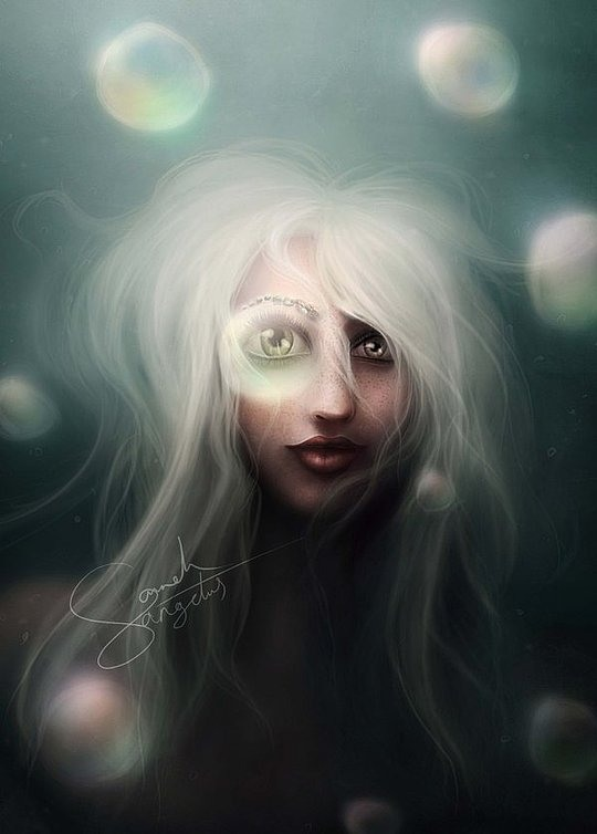 Creepy Art by Sarah Hausmann Al-Ostad
