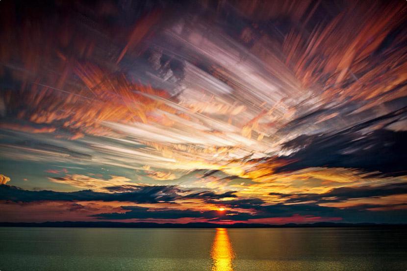 Fotografia em timelapse cria efeito incrivel em paisagens
