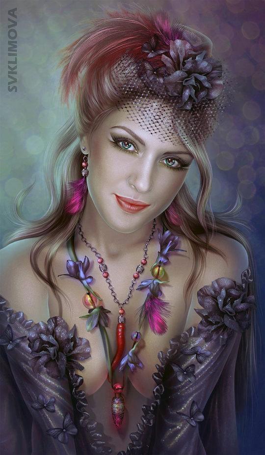 Digital Illustrations by Svetlana Klimova
