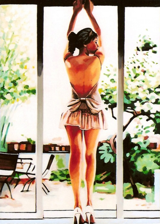 Sexy Paintings by Thomas Saliot