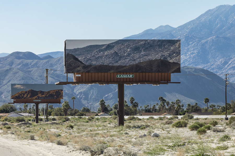 Incredible Billboards with California Landscape
