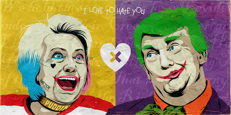 Trump X Hillary - Quand la politique rencontre la pop culture