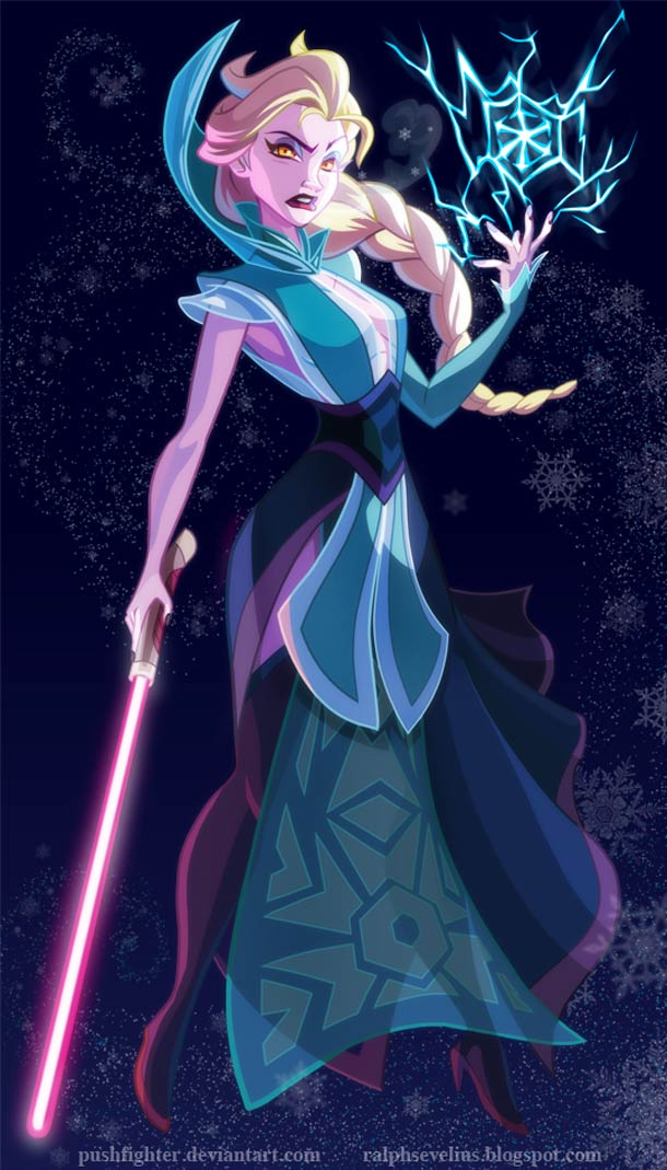 Les princesses Disney s'invitent dans Star Wars…