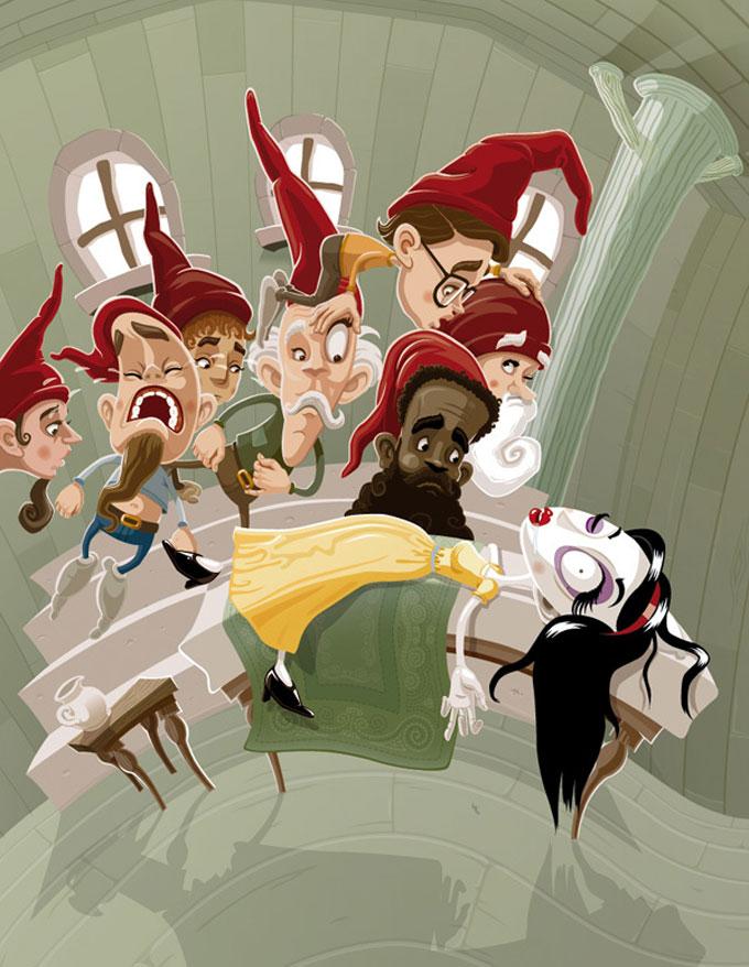 As divertidas ilustracoes de Andreas Krapf