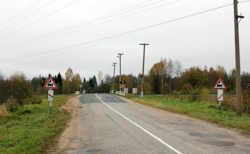 Переезд на перегоне Гарнея - Себеж