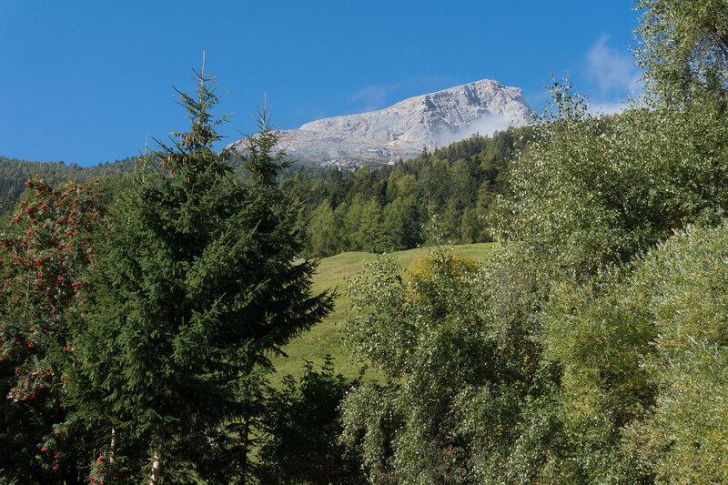 горы на перевале Решенпасс (Reschenpass)