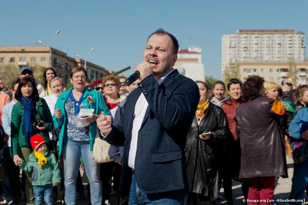 Флешмоб артиста Ярослава Сумишевского