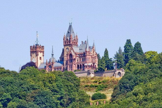 Замок Драхенбург. Германия