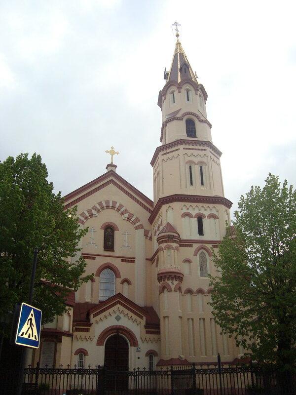 Вильнюс. Церковь святого Николая Чудотворца (2)