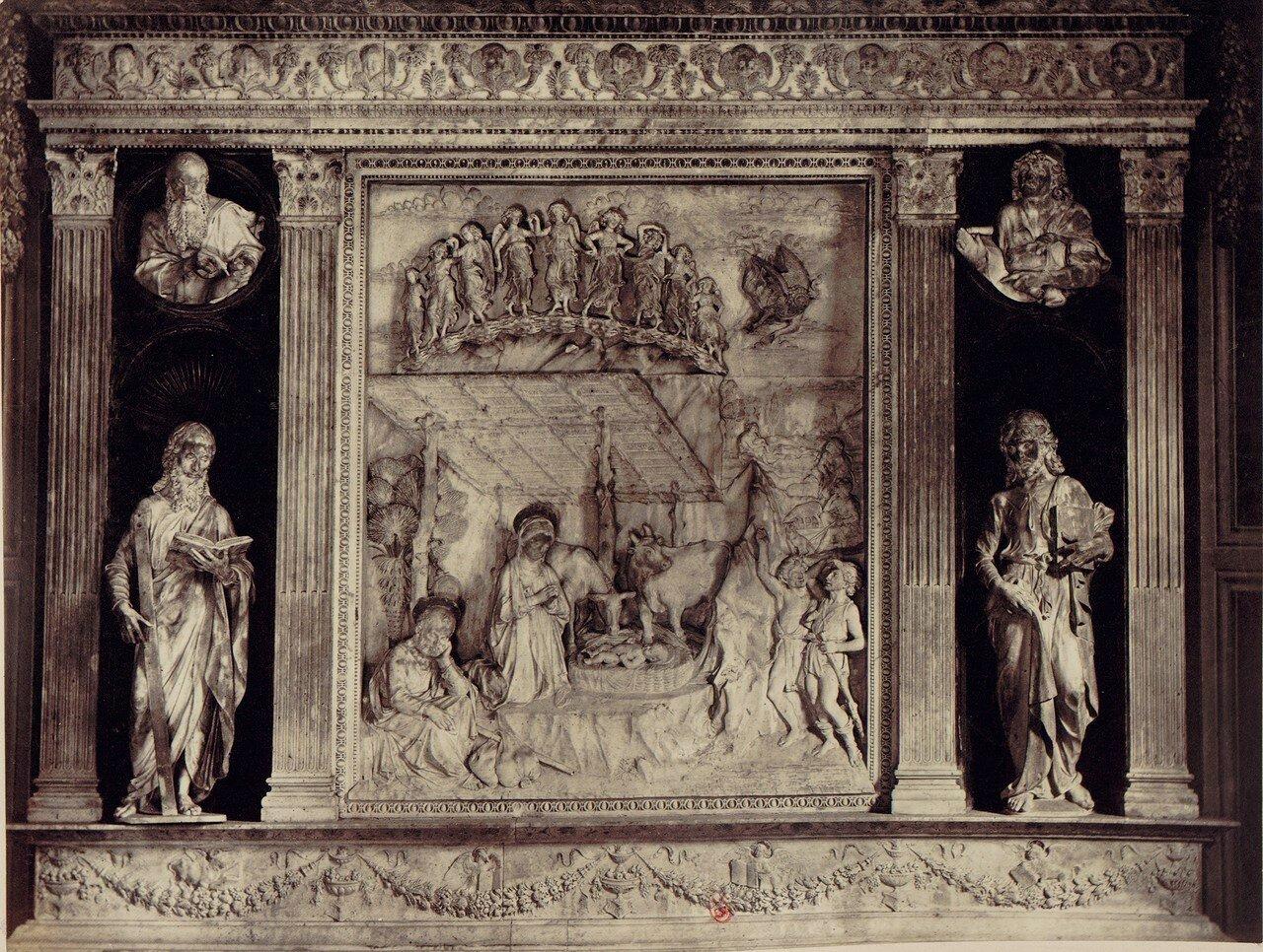 28. Церковь святой Анны. Скульптуры хора