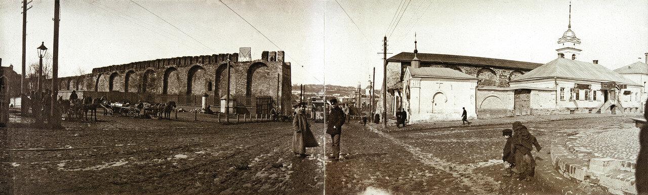 Панорамный вид Троицкого пролома. 1902